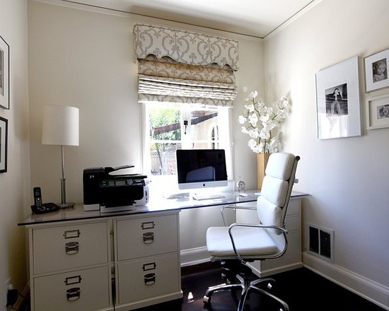 Comment am nager un petit bureau - Idee decoration bureau maison ...